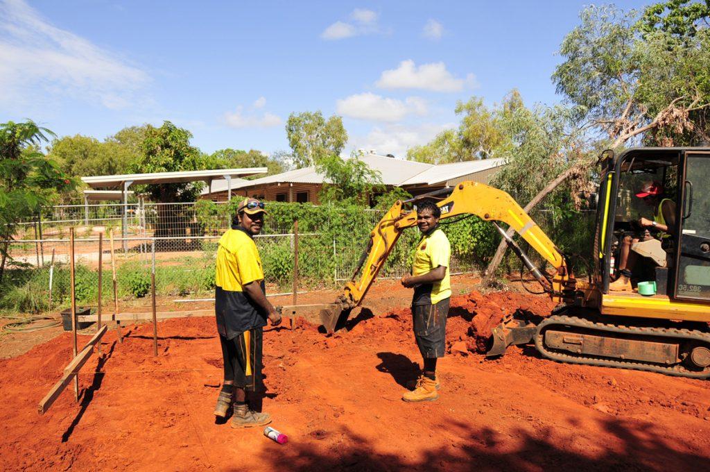 Boys_on_site_with_Excavator